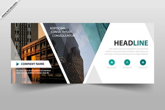 Design de modelo de cabeçalho de banner comercial