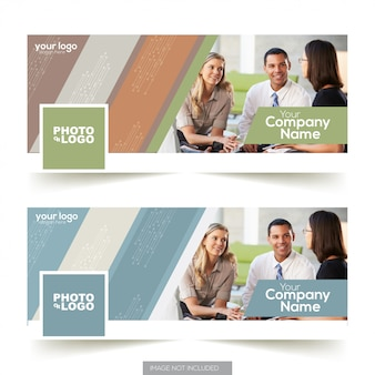 Design de modelo de capa de timeline facebook de negócios corporativos