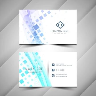 Design de modelo de cartão elegante abstrato
