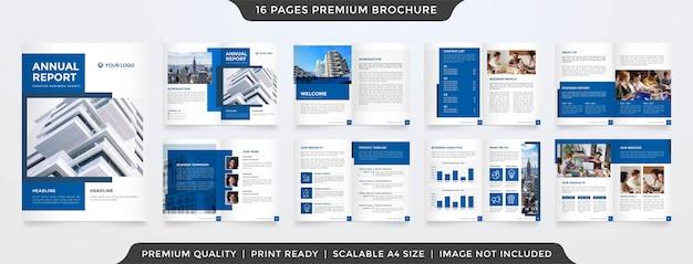 Design de modelo de folheto de negócios