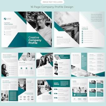 Design de modelo de folheto