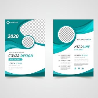Design de modelo de panfleto de negócios
