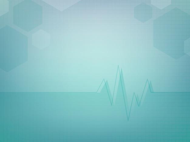 Design de modelo de papel de parede médico abstrato