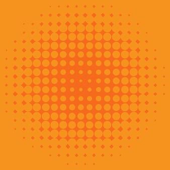 Design de modelo de plano de fundo com pontos laranja