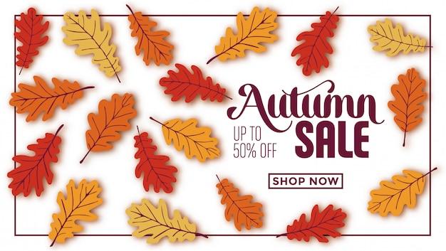 Design de modelo de venda outono