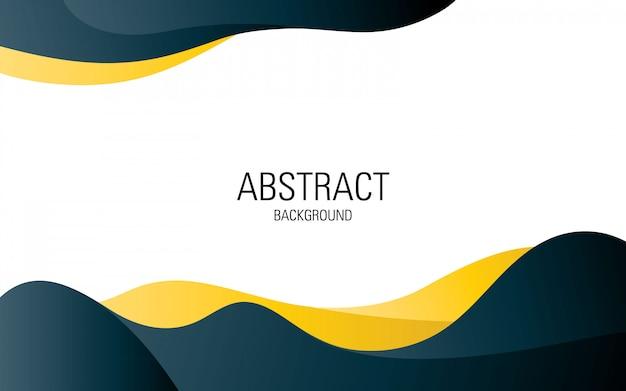 Design de modelo profissional abstrato