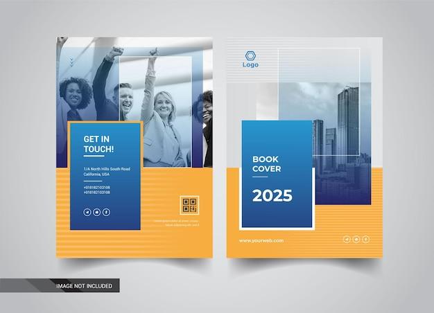 Design de modelos de capa de livro
