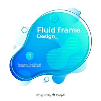 Design de moldura fluida