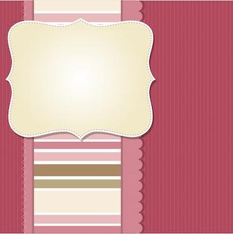 Design de moldura legal modelo para cartão