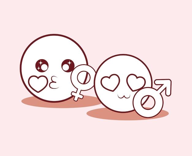 Design de namoro online