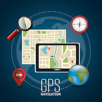 Design de navegação gps