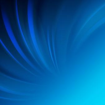 Design de onda lisa azul.