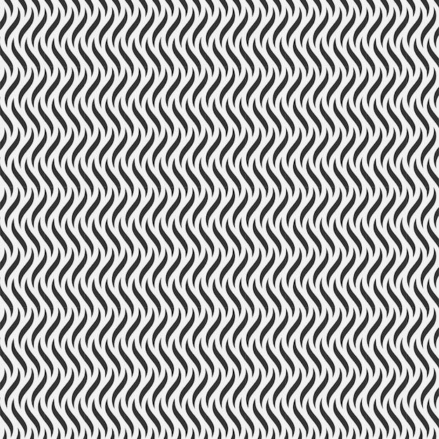 Design de onda repetição padrão sem emenda