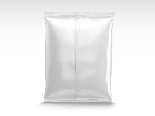 Design de pacote de chip em branco