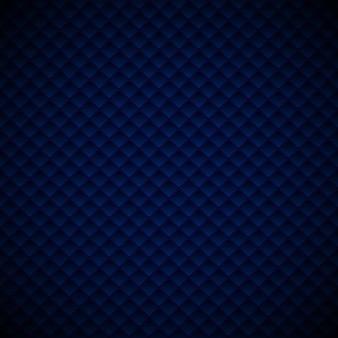 Design de padrão abstrato geométrico azul luxo quadrados