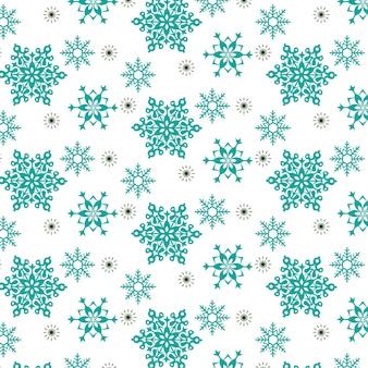 Design de padrão de flocos de neve