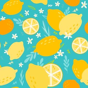 Design de padrão de frutas