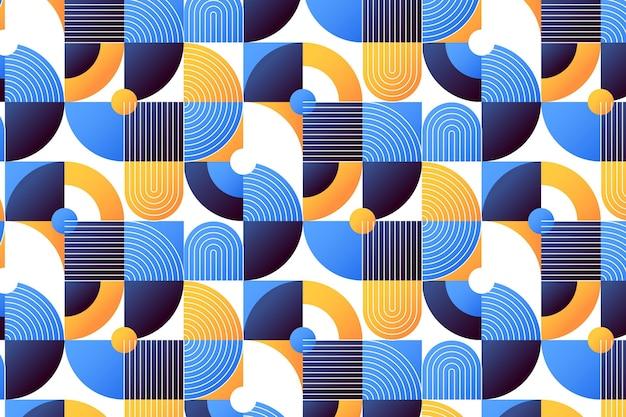 Design de padrão de mosaico gradiente