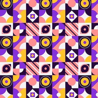Design de padrão de mosaico plano
