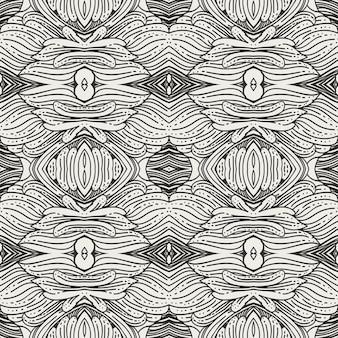 Design de padrão de ornamento de flora vintage