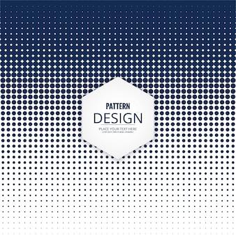 Design de padrão de pontos modernos