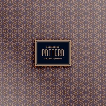 Design de padrão de textura de tecido impressionante