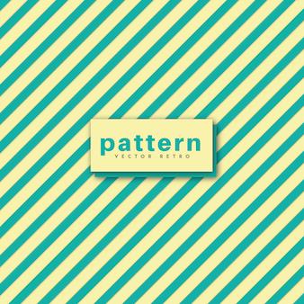 Design de padrão de vetor retro