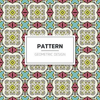 Design de padrão geométrico luxuoso