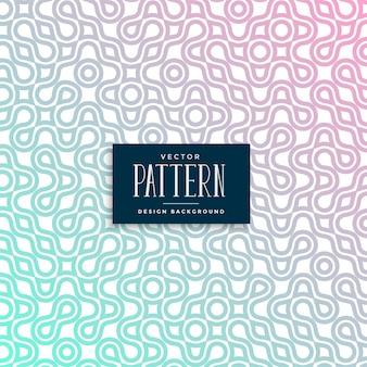 Design de padrão sem emenda colorido abstrato truchet
