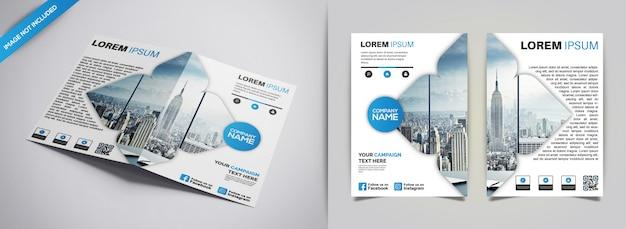 Design de panfleto