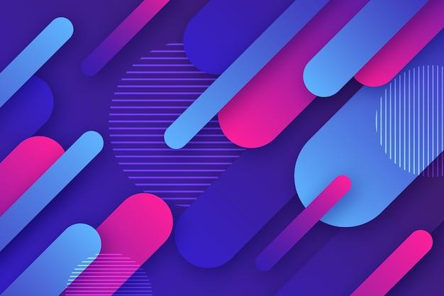 Design de papel de parede abstrato colorido