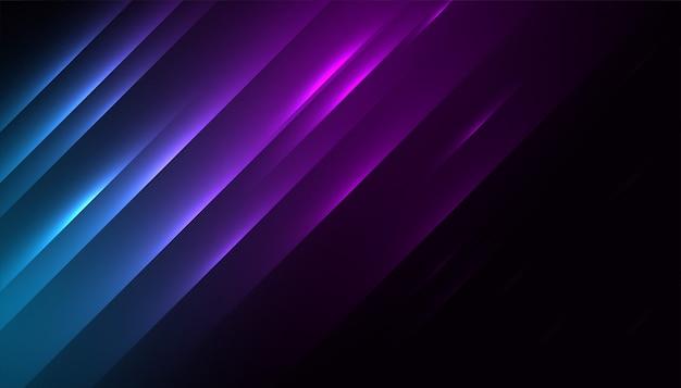 Design de papel de parede de fundo com efeito de linha de luzes brilhantes