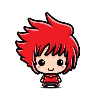 Design de personagens bonito chibi