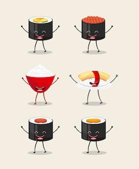 Design de personagens de comida