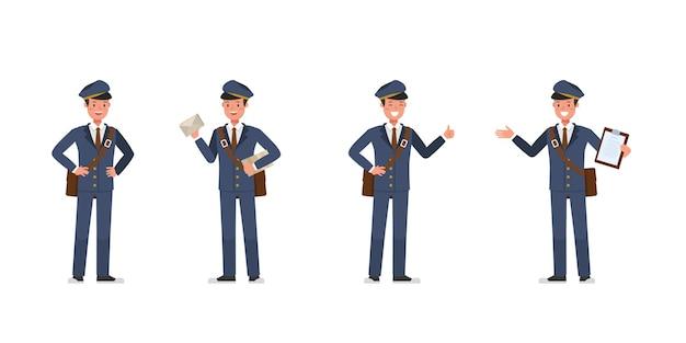 Design de personagens do carteiro