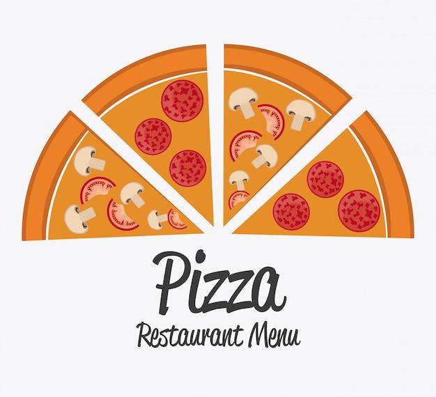 Design de pizza.