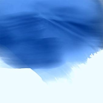 Design de plano de fundo azul textura aquarela