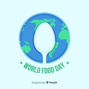 Design de plano de fundo do dia mundial da comida