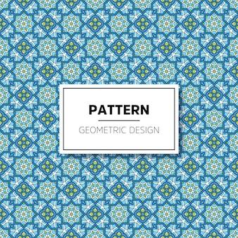 Design de plano de fundo padrão mandala linda
