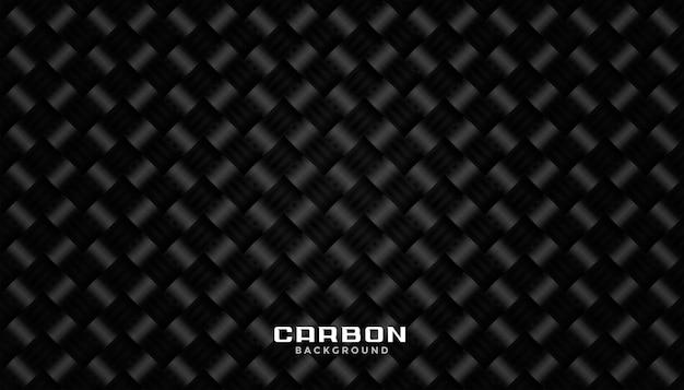 Design de plano de fundo preto textura de fibra de carbono