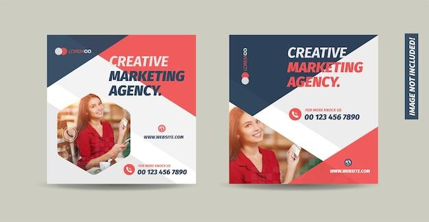 Design de postagem de mídia social comercial ou design de banner da web ou design de banner promocional