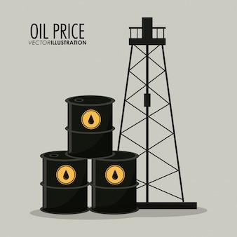 Design de preço do petróleo