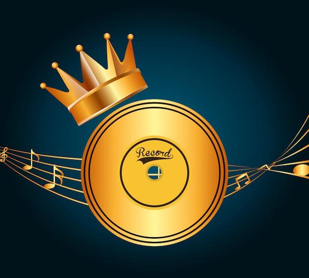 Design de prêmio de música