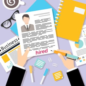 Design de processo de contratação