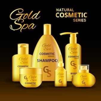 Design de produtos cosméticos de luxo