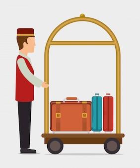 Design de produtos e serviços do hotel