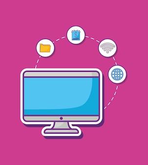 Design de publicidade on-line