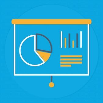 Design de quadro de apresentação