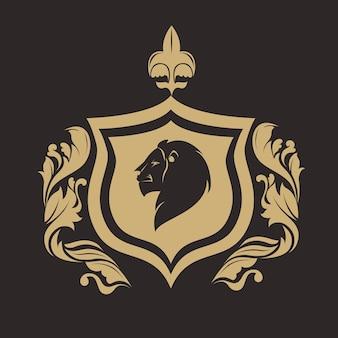 Design de qualidade real do emblema