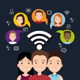 Design de redes sociais